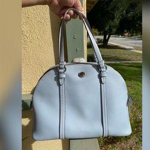 Coach baby blue purse